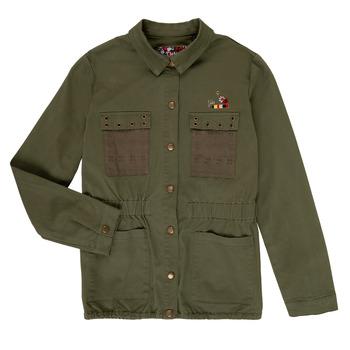 Clothing Girl Jackets / Blazers Ikks BENKESSI Kaki