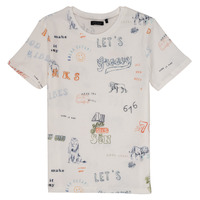 Clothing Boy Short-sleeved t-shirts Ikks LAURENE White