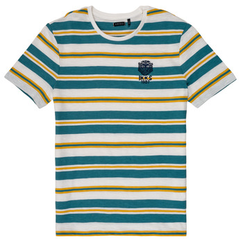 Clothing Boy short-sleeved t-shirts Ikks RAYMONDE White
