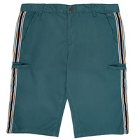 Clothing Boy Shorts / Bermudas Ikks MANUELA Blue / Green