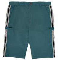 Clothing Boy Shorts / Bermudas Ikks MANUEL Blue / Green