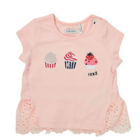 Clothing Girl Short-sleeved t-shirts Ikks DANIA Pink