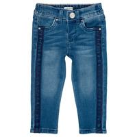 Clothing Girl slim jeans Ikks LUISIN Blue