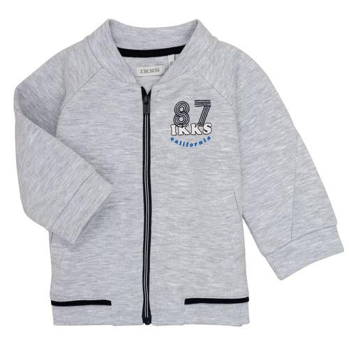 Clothing Boy Sweaters Ikks NINA Grey