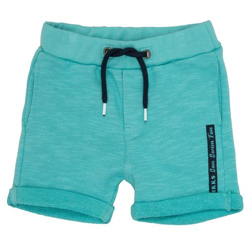 Clothing Boy Shorts / Bermudas Ikks POLEMAN Turquoise