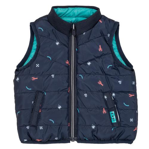 Clothing Boy Duffel coats Ikks ADRIANA Turquoise