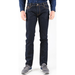 Clothing Men Straight jeans Guess M21030D05B0 DRRN Navy blue