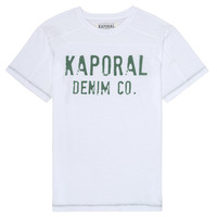 Clothing Boy Short-sleeved t-shirts Kaporal EDSON White