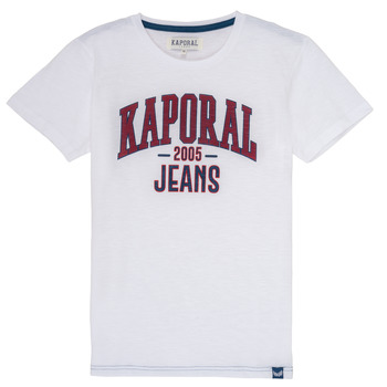 Clothing Boy Short-sleeved t-shirts Kaporal ERNIE White