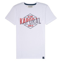 Clothing Boy short-sleeved t-shirts Kaporal EWART White