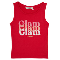 Clothing Girl Tops / Sleeveless T-shirts Kaporal JUIN Red