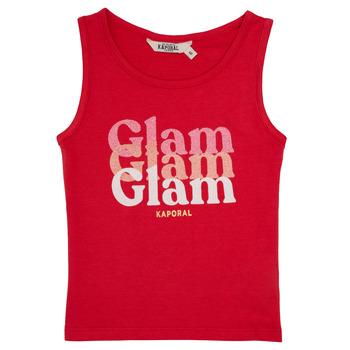 Clothing Girl Tops / Sleeveless T-shirts Kaporal JUIN Red