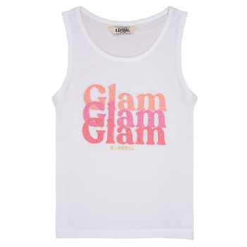 Clothing Girl Tops / Sleeveless T-shirts Kaporal JUIN White
