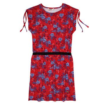 Clothing Girl Short Dresses Kaporal JUNE Red