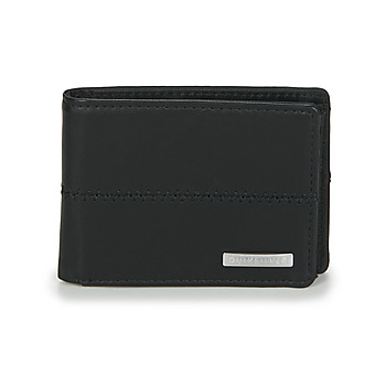 Bags Men Wallets Quiksilver NEW STITCHY WALLET Black