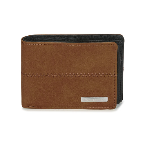 Bags Men Wallets Quiksilver NEW STITCHY WALLET Brown