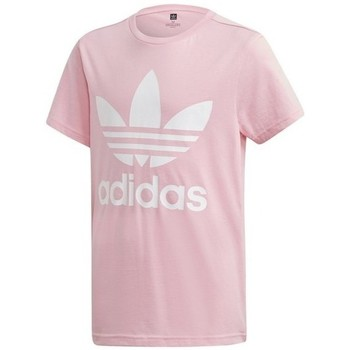 Clothing Children short-sleeved t-shirts adidas Originals Trefoil Tee