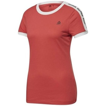 Clothing Women Short-sleeved t-shirts Reebok Sport Linear Logo Tee Red