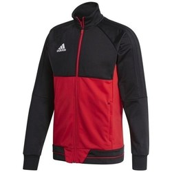 Clothing Men Track tops adidas Originals Tiro 17 Training Jacket Black, Red