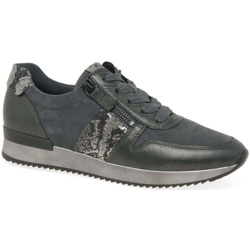 Shoes Women Fitness / Training Gabor Lulea Womens Casual Trainers grey
