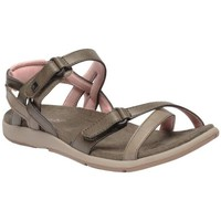 Shoes Women Sandals Regatta LADY SANTA CRUZ Sandals Stone Blue Light Steel Brown Brown