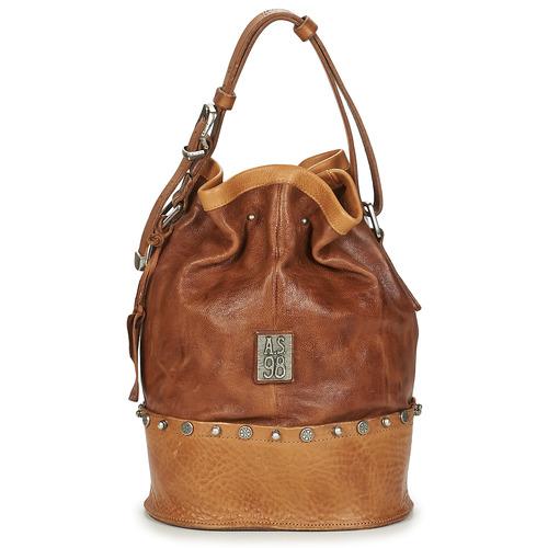 Bags Women Handbags Airstep / A.S.98 RISTA Brown