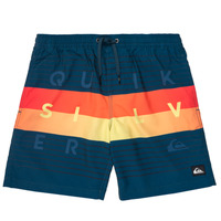Clothing Boy Trunks / Swim shorts Quiksilver WORD BLOCK VOLLEY YOUTH Blue