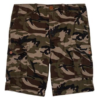 Clothing Boy Shorts / Bermudas Quiksilver CRUCIAL BATTLE Camo