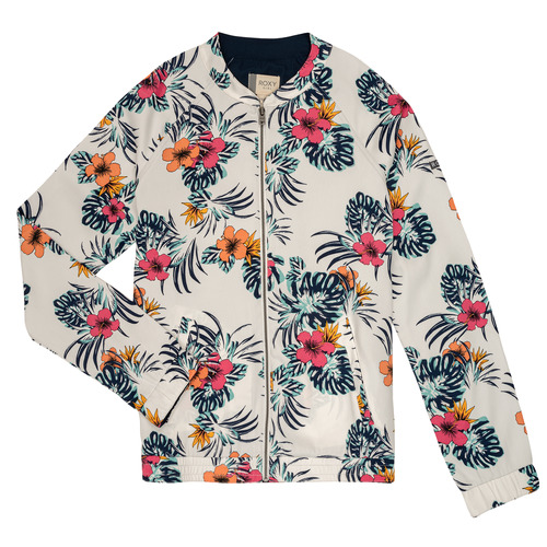 Clothing Girl Jackets / Blazers Roxy LIKE I DO Multicoloured