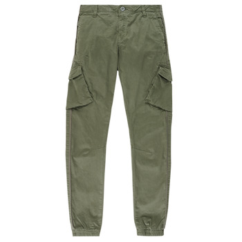 Clothing Boy Cargo trousers Teddy Smith BATTLE Kaki