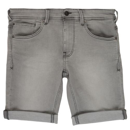 Clothing Boy Shorts / Bermudas Teddy Smith SCOTTY 3 Grey