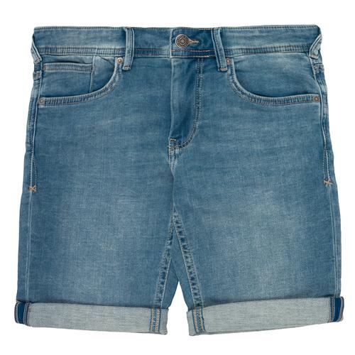 Clothing Boy Shorts / Bermudas Teddy Smith SCOTTY 3 Blue
