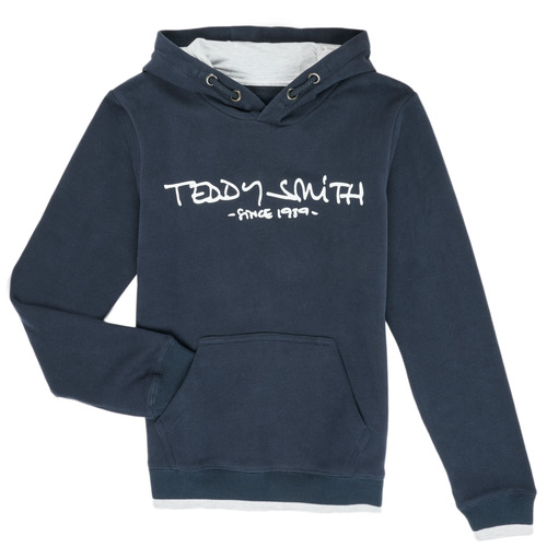 Clothing Boy Sweaters Teddy Smith SICLASS Blue