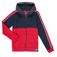 Clothing Boy Sweaters Teddy Smith AMY Red / Marine