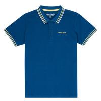 Clothing Boy Short-sleeved polo shirts Teddy Smith PASY Marine