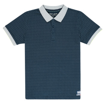 Clothing Boy short-sleeved polo shirts Teddy Smith OVER Marine