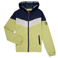 Clothing Boy Jackets Teddy Smith SNIL Marine / White / Green