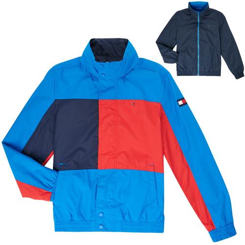 Clothing Boy Jackets Tommy Hilfiger  Blue