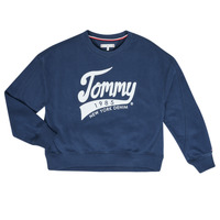 Clothing Girl sweaters Tommy Hilfiger KG0KG04955 Marine