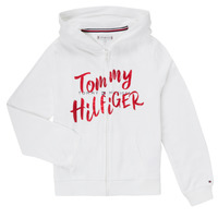 Clothing Girl Sweaters Tommy Hilfiger KG0KG05043 White