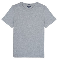 Clothing Boy short-sleeved t-shirts Tommy Hilfiger KB0KB04140 Grey