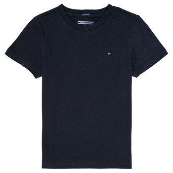 Clothing Boy short-sleeved t-shirts Tommy Hilfiger  Marine