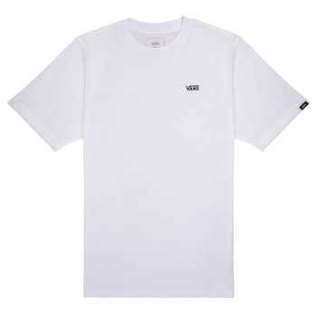 Clothing Boy Short-sleeved t-shirts Vans BY LEFT CHEST White