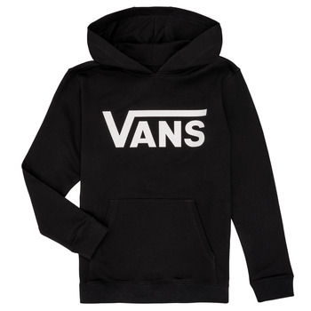 Clothing Children Sweaters Vans BY VANS CLASSIC HOODIE Black