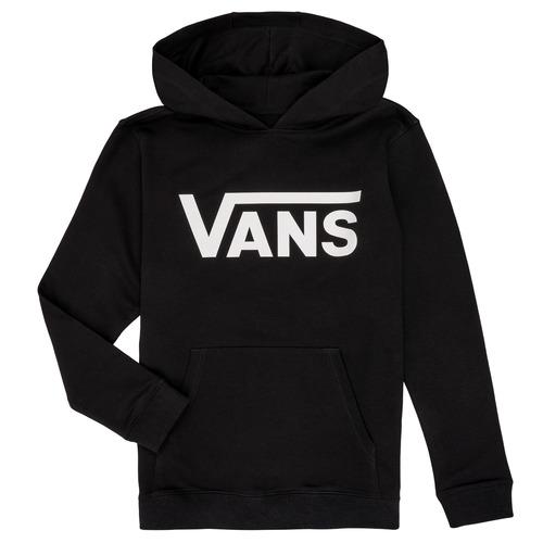 Clothing Children Sweaters Vans BY VANS CLASSIC HOODIE Black
