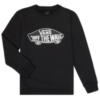 Clothing Children sweaters Vans BY OTW CREW Black
