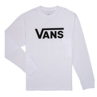 Clothing Boy Long sleeved tee-shirts Vans BY VANS CLASSIC LS White