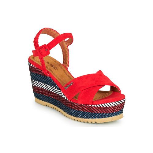 Shoes Women Sandals Refresh LOCKAL Red