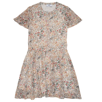Clothing Girl Short Dresses Le Temps des Cerises JUNO Multicoloured