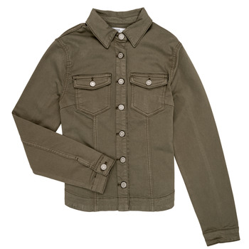 Clothing Girl Jackets / Blazers Le Temps des Cerises SASHA Kaki